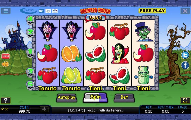screenshot haunte house slot machine
