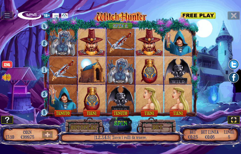 screenshot slot machine witch hunter